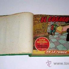 Tebeos: EL COSACO VERDE, DEL Nº 51 AL Nº 100. 50 NÚMEROS ENCUADERNADOS. ED. BRUGUERA. ORIGINAL AÑOS 60.. Lote 38738892