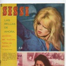 Tebeos: SISSI - Nº 255 - 25 FEBRERO 1963 - BRIGITTE BARDOT - CLAUDIA CARDINALE. Lote 38742322