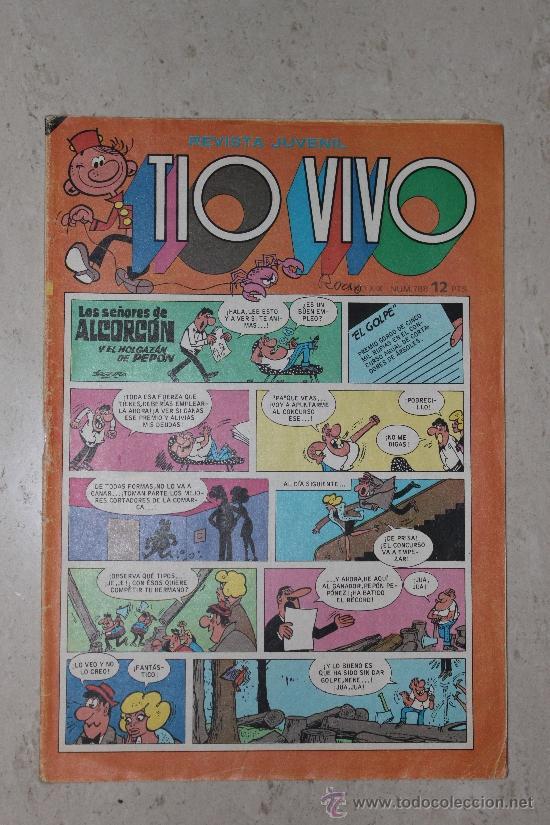 REVISTA JUVENIL TIO VIVO Nº 788 (Tebeos y Comics - Bruguera - Tio Vivo)