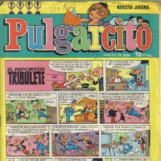 """Tebeos: PULGARCITO Nº 310. CON EL SHERIFF KING EN """"EL JINETE DE LA MUERTE"""" EPISODIO 4. BRUGUERA 1975.. Lote 38796150"""