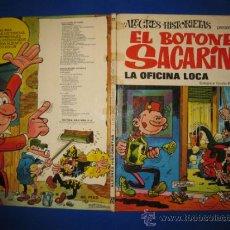 Tebeos: ALEGRES HISTORIETAS Nº 22. EL BOTONES SACARINO.LA OFICINA LOCA. BRUGUERA 1973.1ª ED.. Lote 39509035