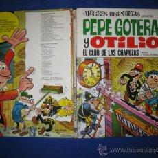 Tebeos: ALEGRES HISTORIETAS Nº 21. PEPE GOTERA Y OTILIO. EL CLUB DE LAS CHAPUZAS.BRUGUERA 1ª ED. 1973 . Lote 38819696