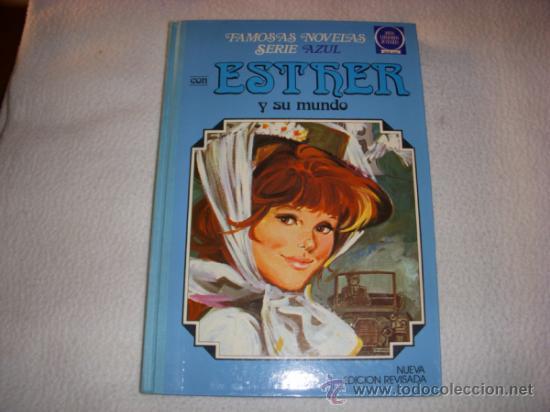 ESTHER FAMOSAS NOVELAS SERIE AZUL RETAPADO Nº 4, EDITORIAL BRUGUERA (Tebeos y Comics - Bruguera - Esther)