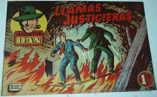 INSPECTOR DAN Nº 15 -- MAGA - ORIGINAL 1952-IMPORTANTE LEER TODO (Tebeos y Comics - Bruguera - Inspector Dan)