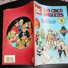 Tebeos: COLECCION OLE Nº 416 V.25 LOS CINCO AMIGUETES EN EL BAILE DE DISFRACES 1ª EDICION 1992. Lote 38908359