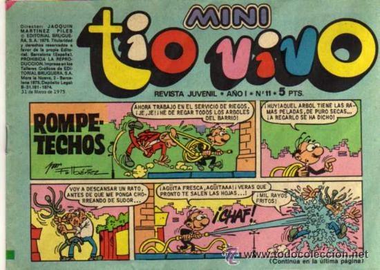 MINI TIO VIVO - AÑO I - Nº 11 - ED. BRUGUERA (Tebeos y Comics - Bruguera - Tio Vivo)