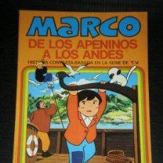 Tebeos: MARCO DE LOS APENINOS A LOS ANDES Nº 10 - UN DIA INTERMINABLE - EDITORIAL BRUGUERA AÑOS 70. Lote 38971639