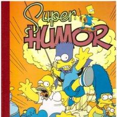 Tebeos: COMIC LOS SIMPSON - SUPER HUMOR, Nº 1; EDICIONES B, AÑO 1996 (1ª EDICION). Lote 38996415