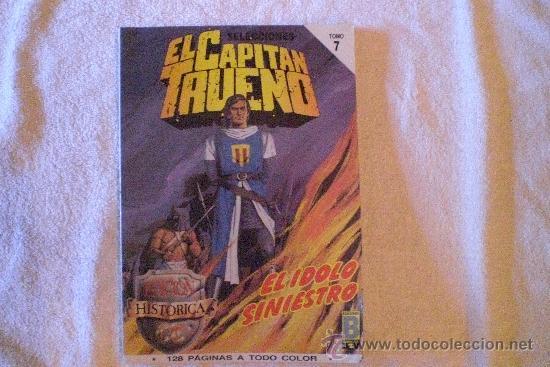 EL CAPITAN TRUENO TOMO 7 EL IDOLO SINIESTRO (Tebeos y Comics - Bruguera - Capitán Trueno)