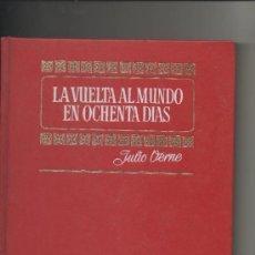 Tebeos: LA VUELTA AL MUNDO EN 80 DIAS.JULIO VERNE.HISTORIAS COLOR.BRUGUERA 1972. Lote 39577204