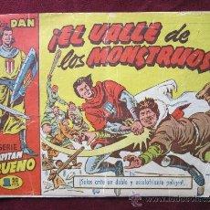 Tebeos: EL CAPITÁN TRUENO Nº 55. ¡EL VALLE DE LOS MONSTRUOS! ED. BRUGUERA ORIGINAL, 1957. COLECCIÓN DAN. Lote 39025702