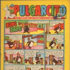 Tebeos: TEBEOS-COMICS GOYO - PULGARCITO - Nº 1399 - BRUGUERA - CON CAPITAN TRUENO *AA99. Lote 39092874