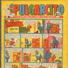 Tebeos: TEBEOS-COMICS GOYO - PULGARCITO - Nº 1416 - BRUGUERA - CON CAPITAN TRUENO *AA99. Lote 39095637