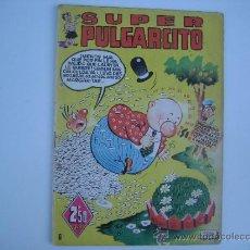 Tebeos: SUPER PULGARCITO Nº 8. ORIGINAL. EDITORIAL BRUGUERA 1949.. Lote 39126993