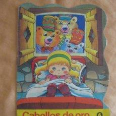 Tebeos: CABELLOS DE ORO Y LOS TRES OSOS, TROQUELADOS BRUGUERA AÑO 1979. Lote 96938587