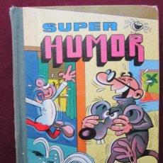 Tebeos: SUPER HUMOR VOLUMEN XII (12). MORTADELO Y FILEMÓN A TODO GAS. BRUGUERA 1ª EDICIÓN, 1976. Lote 39192546