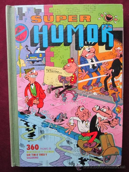 SUPER HUMOR VOLUMEN XXV (25). MORTADELO Y FILEMÓN. BRUGUERA 1ª EDICIÓN, 1978 (Tebeos y Comics - Bruguera - Super Humor)