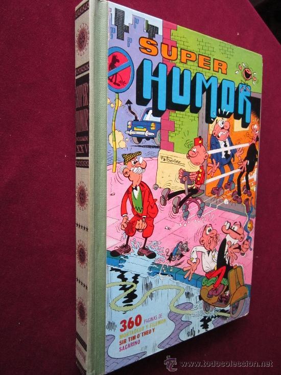Tebeos: SUPER HUMOR Volumen XXV (25). Mortadelo y Filemón. Bruguera 1ª Edición, 1978 - Foto 2 - 39193652