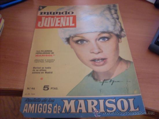 MUNDO JUVENIL Nº 46 AMIGOS DE MARISOL (BRUGUERA) (CLA3) (Tebeos y Comics - Bruguera - Otros)