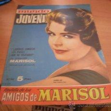 Tebeos: MUNDO JUVENIL Nº 40 AMIGOS DE MARISOL (BRUGUERA) SANDRA DEE PORTADA (CLA3). Lote 39194874