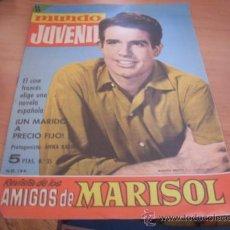 Tebeos: MUNDO JUVENIL Nº 35 AMIGOS DE MARISOL (BRUGUERA) WARREN BEATTY PORTADA (CLA3). Lote 39194907