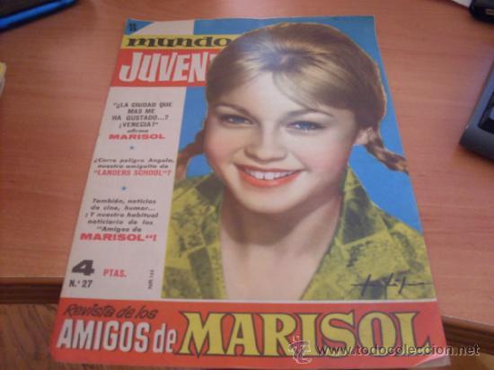 MUNDO JUVENIL Nº 27 AMIGOS DE MARISOL (BRUGUERA) (CLA3) (Tebeos y Comics - Bruguera - Otros)