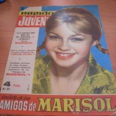 Tebeos: MUNDO JUVENIL Nº 27 AMIGOS DE MARISOL (BRUGUERA) (CLA3). Lote 39195002