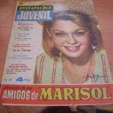 Tebeos: MUNDO JUVENIL Nº 23 AMIGOS DE MARISOL (BRUGUERA) (CLA3). Lote 39195038