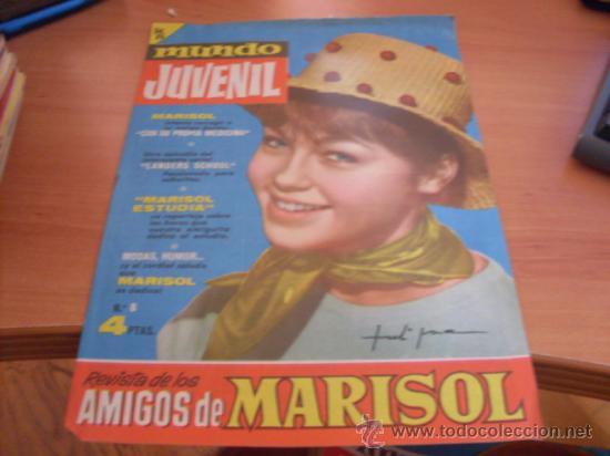MUNDO JUVENIL Nº 8 AMIGOS DE MARISOL (BRUGUERA) (CLA3) (Tebeos y Comics - Bruguera - Otros)