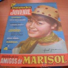 Tebeos: MUNDO JUVENIL Nº 8 AMIGOS DE MARISOL (BRUGUERA) (CLA3). Lote 39195176