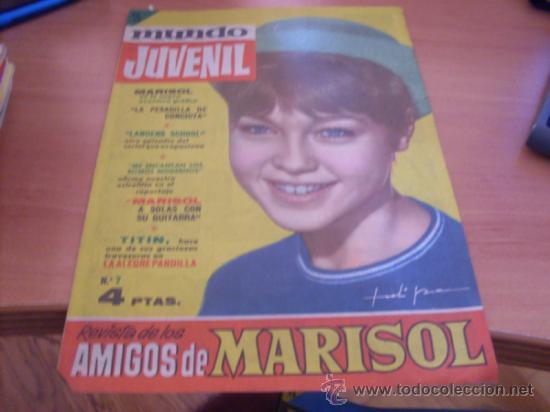 MUNDO JUVENIL Nº 7 AMIGOS DE MARISOL (BRUGUERA) (CLA3) (Tebeos y Comics - Bruguera - Otros)