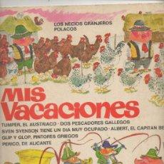 Tebeos: MIS VACACIONES. RICHARD SCARRY.BRUGUERA. Lote 43972572