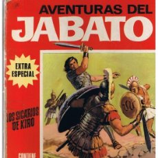 Tebeos: AVENTURAS DEL JABATO. EXTRA ESPECIAL (ROJO). LOS SICARIOS DE KIRO. BRUGUERA 1970. (B/A19). Lote 39245852