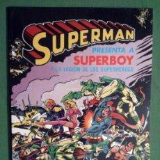 Tebeos: SUPERMAN ALBUM GIGANTE # 5 (BRUGUERA) – FEBRERO 1980. Lote 39252839