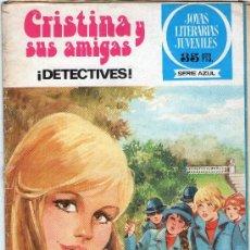 Tebeos: JOYAS LITERARIAS JUVENILES - SERIE AZUL - Nº 30 - CRISTINA Y SUS AMIGAS - BRUGUERA - AÑO 1979.. Lote 39261077