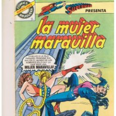 Giornalini: SUPER ASES BRUGUERA. LA MUJER MARAVILLA. NUMERO 1.. Lote 39311179