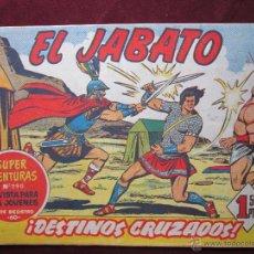 Tebeos: EL JABATO Nº 86. ¡DESTINOS CRUZADOS! ORIGINAL BRUGUERA 1960. . Lote 39314643