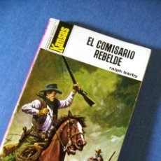 Tebeos: EL COMISARIO REBELDE. BOLSILIBROS BRUGUERA. COLECC. KANSAS Nº 744.. Lote 39326226