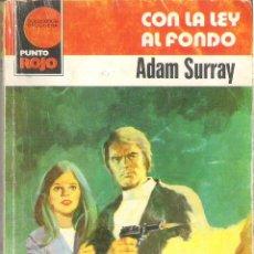 Tebeos: 1 NOVELA POLICIACA AÑO 1981 - BRUGUERA - Nº 1023 - CON LA LEY AL FONDO ( ADAM SURRAY ). Lote 39347408