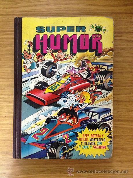 SUPER HUMOR TOMO XV 4ª EDICIÓN 1984 - CONTIENE LOS SECUESTRADORES (Tebeos y Comics - Bruguera - Super Humor)