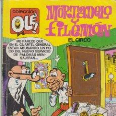 Tebeos: COMIC OLÉ MORTADELO Y FILEMÓN Nº 105-M61 BRUGUERA 1ª ED.1988. Lote 39351691