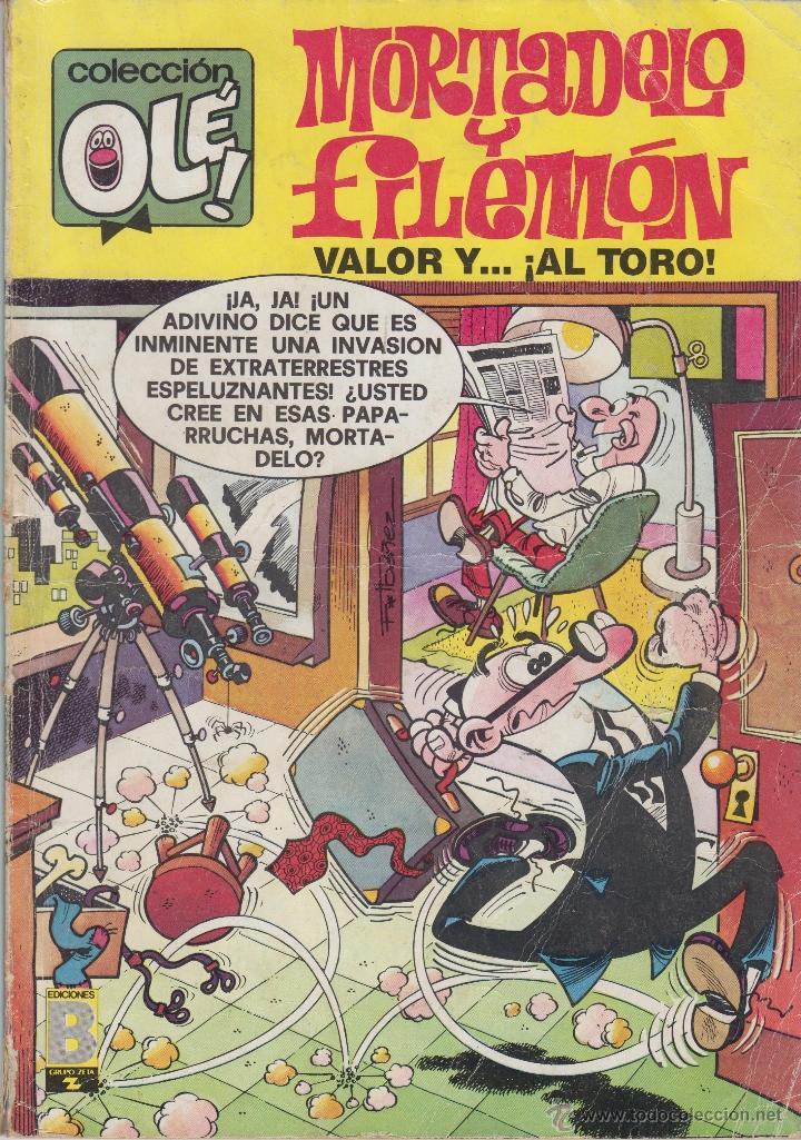 COMIC OLÉ MORTADELO Y FILEMÓN Nº 142-M67 BRUGUERA 1ª ED.1988 (Tebeos y Comics - Bruguera - Ole)