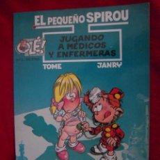 Tebeos: EL PEQUEÑO SPIROU 3 - JUGANDO A MEDICOS Y ENFERMERAS - TOME & JANFRY - RUSTICA. Lote 39353778