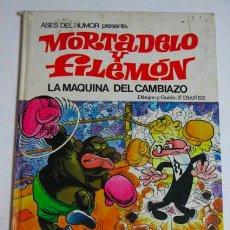 Tebeos: MORTADELO Y FILEMON, LA MÁQUINA DEL CAMBIAZO, EDIT. BRUGUERA 1971. Lote 39382204