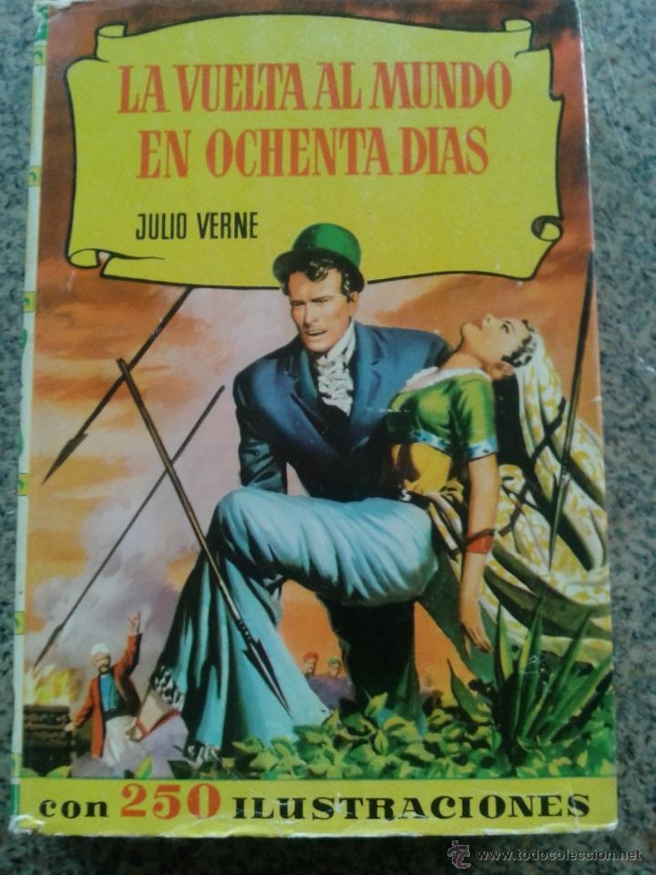 COLECCION HISTORIAS -- LA VUELTA AL MUNDO EN OCHENTA DIAS -- JULIO VERNE (Tebeos y Comics - Bruguera - Otros)
