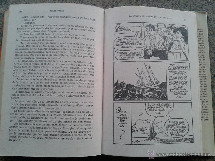 Tebeos: COLECCION HISTORIAS -- LA VUELTA AL MUNDO EN OCHENTA DIAS -- JULIO VERNE - Foto 2 - 39400529