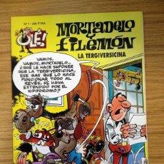 Tebeos: MORTADELO Y FILEMÓN COLECCIÓN OLE Nº 7 LA TERGIVERSICINA - PRIMER EDICIÓN 1993. Lote 39405034
