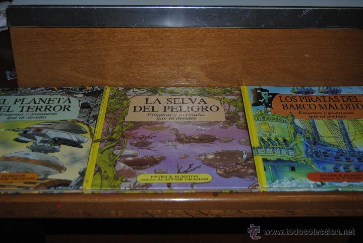 EDICIONES B LIBRO JUEGO LOS PIRATAS DEL BARCO MALDITO, EL PLANETA TERROR, LA SELVA DEL PELIGRO (Tebeos y Comics - Bruguera - Otros)