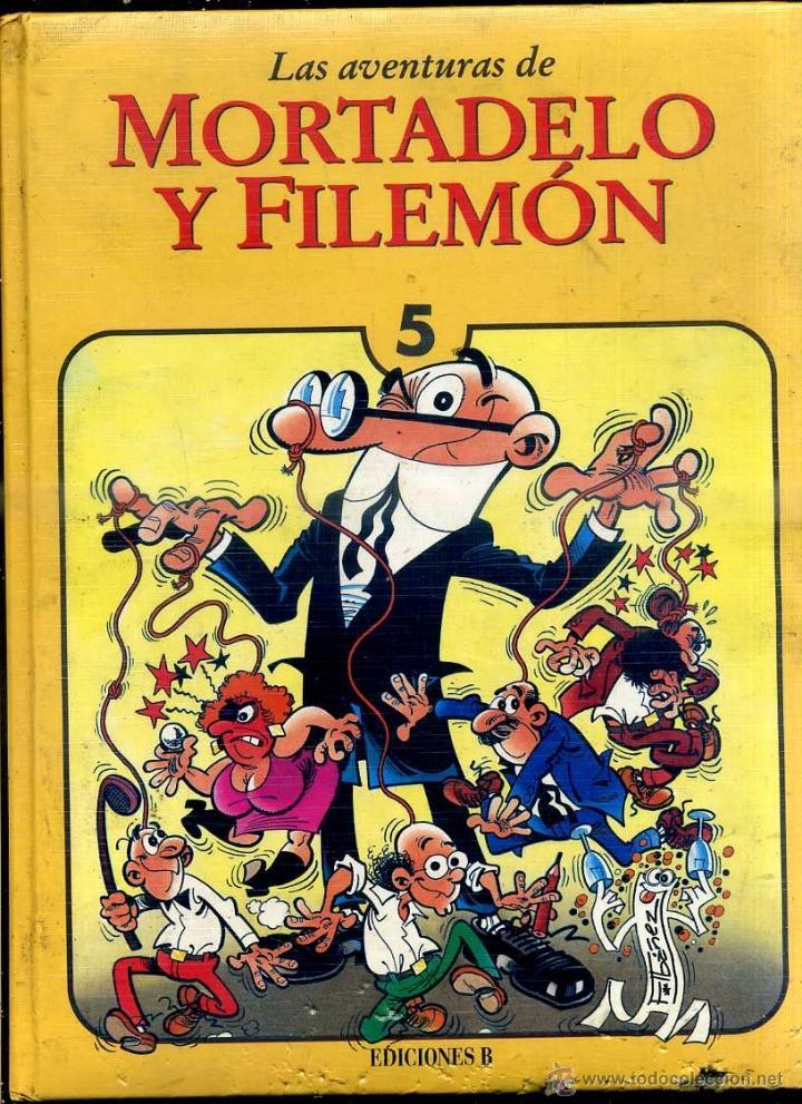 MORTADELO Y FILEMÓN TOMO 5 (EDICIONES B, 1994) 1ª EDICIÓN - GUAFLEX (Tebeos y Comics - Bruguera - Mortadelo)