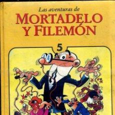 Tebeos: MORTADELO Y FILEMÓN TOMO 5 (EDICIONES B, 1994) 1ª EDICIÓN - GUAFLEX. Lote 128622071